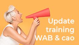 WAB Wet Arbeidsmarkt in Balans | Update training wab en cao | artra